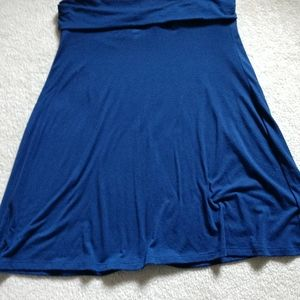 Old navy navy foldover skirt